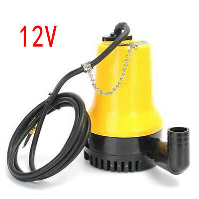 New 12V Submersible Water Pump 1620GPH 6000L/H Clean Clear Dirty Pool Pond Flood