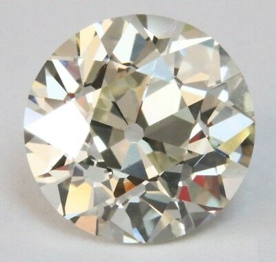 Fiery Off White Old European Cut 3.50 mm to 10.00 mm Loose Moissanite