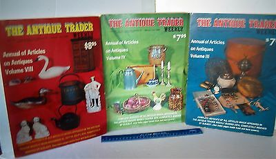 LP17 (O6) Vintage The Antique Trader Weekly Magazine LOT #24
