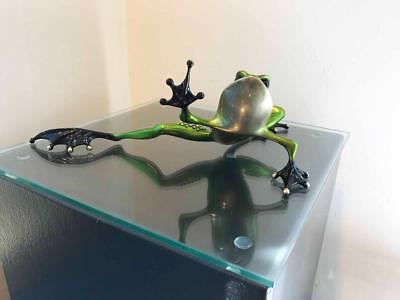 RARE Tim Cotterill Frogman Sculpture - GRINCH - EV 95 of 150 - SOLD OUT (31760)