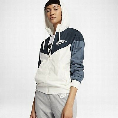 new product ba19e 2d4f1 Nike Sportswear Windrunner Women s Jacket XS Armory Navy Blue Gym Casual New