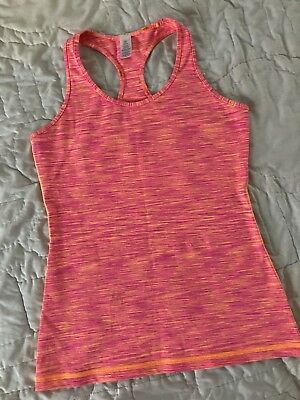 Ivivva By Lululemon Girls Size 14 Pink Racer Back Tank Top