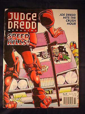 Judge Dredd Megazine - Issue 69 - Dec 23, 1994