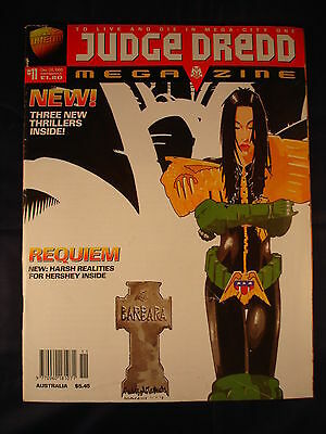 Judge Dredd Megazine - Issue 11 - December 08, 1995