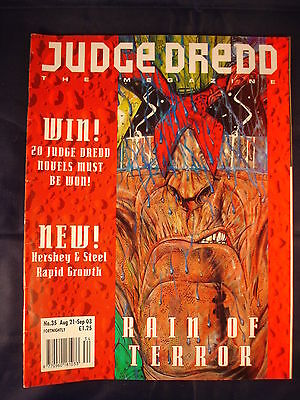 Judge Dredd Megazine - Issue 35 - Aug 21 - Sep 03
