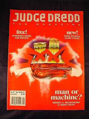 Judge Dredd Megazine - Issue 37 - Sep 18 - Oct 01