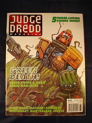 Judge Dredd Megazine - Issue 65 - Oct 28, 1994
