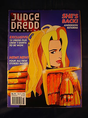 Judge Dredd Megazine - Issue 73 - Feb 17, 1995
