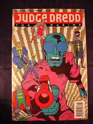 Judge Dredd Megazine - Issue 8 - Aug 09 - 21, 1992