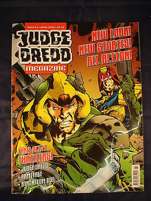 Judge Dredd Megazine - Issue 64 - April 2000