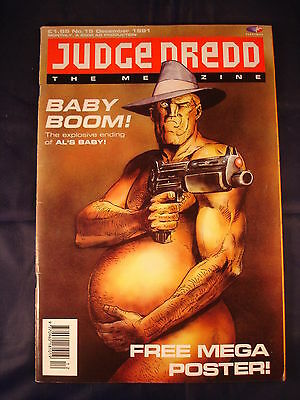 Judge Dredd Megazine - Issue 15 - December 2001