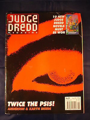 Judge Dredd Megazine - Issue 59 - Aug 05, 1994