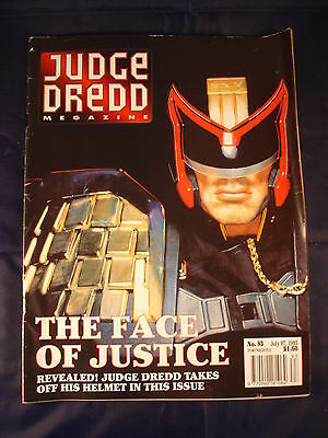 Judge Dredd Megazine - Issue 83 - July 07, 1995