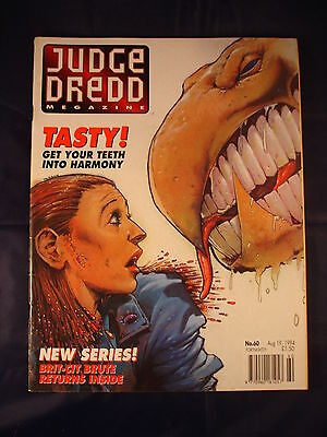 Judge Dredd Megazine - Issue 60 - Aug 19, 1994