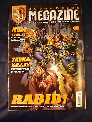 Judge Dredd Megazine - Issue 45 - September 1998