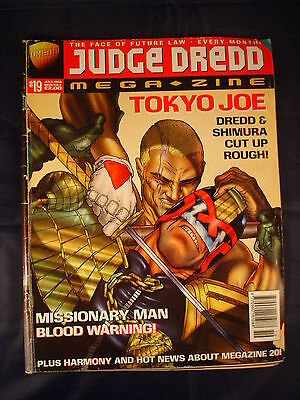 Judge Dredd Megazine - Issue 19 - July 1996