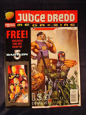 Judge Dredd Megazine - Issue 30 - June 1997
