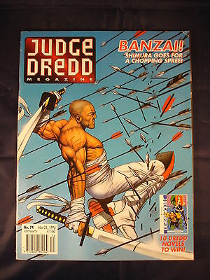 Judge Dredd Megazine - Issue 74 - Mar 03, 1995