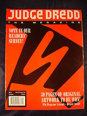 Judge Dredd Megazine - Issue 18 - Dec 26 1992 - Jan 8 1993