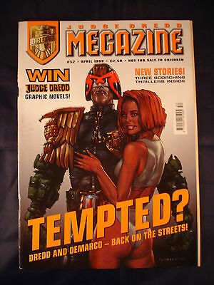 Judge Dredd Megazine - Issue 52 - April 1999