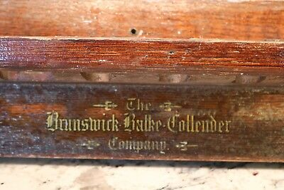 Antique Brunswick,Balke&Collender Pool Cue Rack 1930's 40's