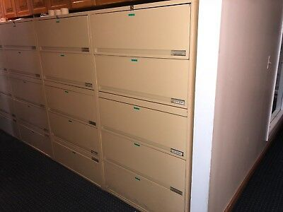 FREE - Tan Full Size File Cabinets in Great condition