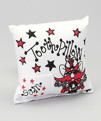 Personalized Texas Tech Tooth Fairy Pillow