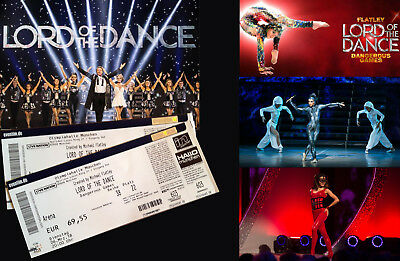 """""""Lord of the Dance"""" 2 Stück Tickets am 06.03.2018 in München"""
