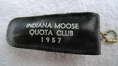 Loyal Order of Moose 1957 Indiana Quota Club Nail Clippers