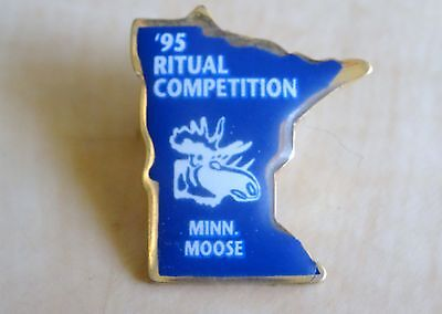 A Loyal Order of Moose Minnesota Association 1995 Ritual Competition Lapel Pin