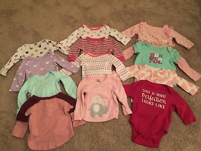 Baby Girl Clothing Lot (0-3 months) 36pc
