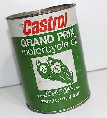 Castrol Vintage Grand Prix Motorcycle Racing Oil Harley Davidson Yamaha Triumph