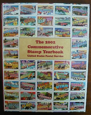 USA Jahrbuch 2002 The 2002 Stamp Yearbook United States Postal Service!!!!