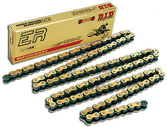 D.I.D 428NZ-132 LINK 428 NZ Super Non O-Ring Series Chain 132 Links Black