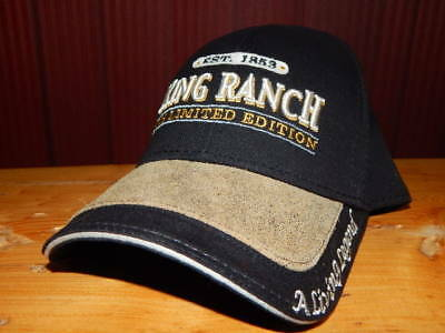 Officially Licensed King Ranch 2009 Limited Edition Leather Hat Cap-RARE!