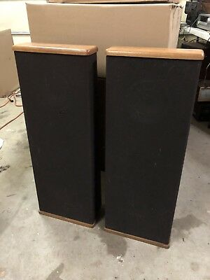 Vintage Pair Of DCM Time Frame TF 250 Speakers working sound great