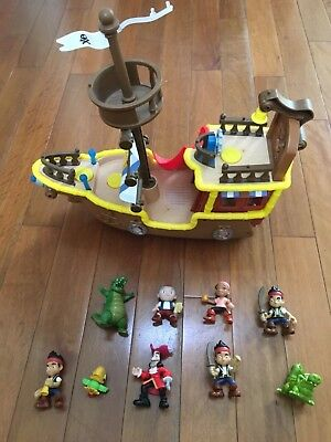 Fisher-Price Disney Jake and The Never Land Pirates Jake's Musical Pirate Ship