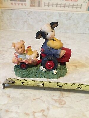 Enesco Mary's Moo Moos 1997 Friends Will Never Steer You Wrong Figurine #319376