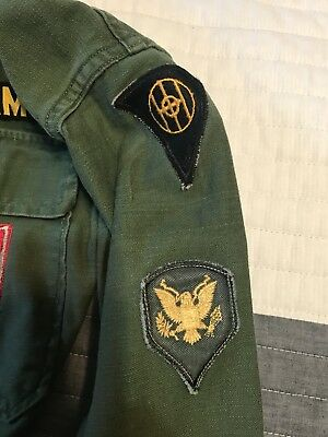 ORIGINAL WW2 US ARMY 83RD INFANTRY OHIO Spearhead ALLONS & More on Uniform