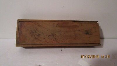 Antique schoolchilds pencil box late 19th early 20th century