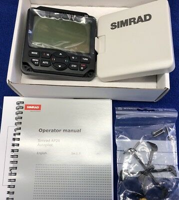 NEW OLD STOCK Simrad AP24 Autopilot Control Unit For AC12 & AC42 Systems
