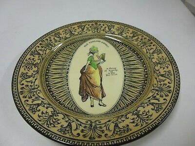 "Royal Doulton Plate ""Old English Sayings"""