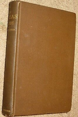 Rare 1st 1889 Kansas Crusade Slavery American History War Thayer Antique Book NR