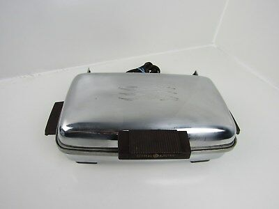 Vintage 1950s General Electric Removable Plates Waffle Iron GE 149G39