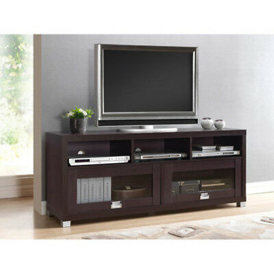 Flat Screen Stand Holds 65 Inch Entertainment Media Home Center Modern
