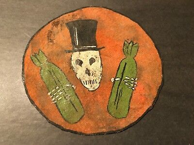 WW2 WWii USAF US AIR FORCE PATCH-399th Bombardment Squadron-ORIGINAL!LEATHER!