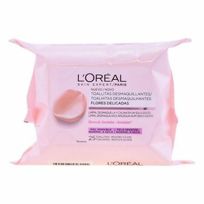Toallitas Desmaquillantes L'Oreal Make Up.Cantidad 25 uds