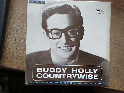 Buddy Holly: Countrywise Rare Holland 10Inch 1965