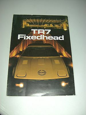 TR7 fixed head brochure