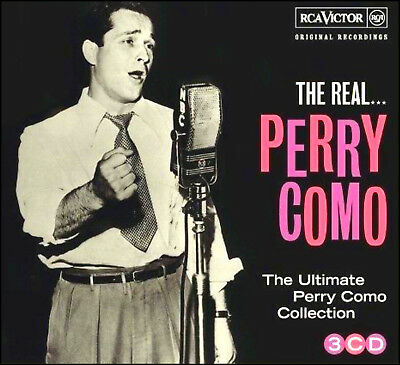 PERRY COMO * 60 Greatest Hits * NEW  3-CD Boxset * All Original Songs * NEW